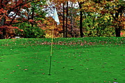Golf Flag Prints - Ridgewood Golf and Country Club Print by Robert Harmon