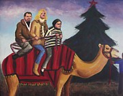 Suzanne  Marie Leclair - RIding a Camel