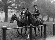 Riding Habit Prints - Riding In Hyde Park Print by Hulton Collection