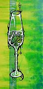 Riesling Paintings - Riesling by John Benko