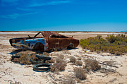 Car Crash Photos - Rifle Range by Tim Nichols