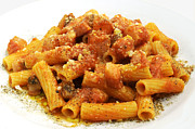 Cut Out Art - Rigatoni allamatriciana by Fabrizio Troiani