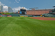 Oriole Park Prints - Right Field at Oriole Park at Camden Yard Print by Paul Mangold