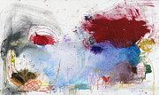 Contemporary Abstract Mixed Media Prints - Right Place At The Right Time Print by Michel  Keck