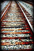 Devon Stewart Metal Prints - Right Side Of The Tracks Metal Print by Devon Stewart