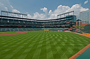 Oriole Park Prints - Right to Left at Oriole Park Print by Paul Mangold
