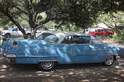 Right View 1956 Cadillac Print by Linda Phelps