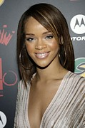 Lebron Photo Metal Prints - Rihanna At Arrivals For Jay-z Metal Print by Everett