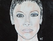 Charts Paintings - Rihanna by Horace Cornflake