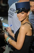 Rihanna Photos - Rihanna On Stage For Nbc Today Show by Everett