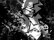 Rihanna Shattered Print by Anibal Diaz
