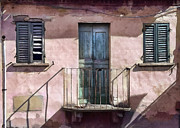 Architecture Digital Art - Rimini Balcony by Sharon Foster