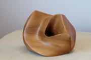 Wood Sculpture Sculpture Originals - Rimu Abstract by Peter Hill