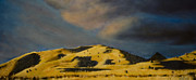 Albuquerque Paintings - Rincon de las Sandias by Jack Atkins