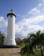 Rincon Photos - Rincon Puerto Rico Lighthouse by Adam Johnson