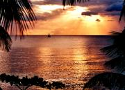 Rincon Photos - Rincon Sunset by Michael  Cryer