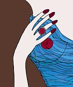 Ring Finger Print by Frank Tschakert