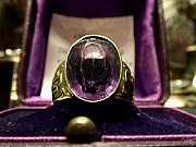 Purple Jewelry - Ring of Popes by Edan Chapman
