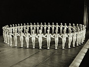 Women Only Framed Prints - Ring Of Rockettes Framed Print by Archive Holdings Inc.