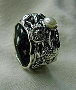 925 Jewelry - Ring Silver 925 Pearl by Jonatan Kor
