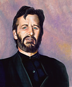 Ringo Starr Paintings - Ringo by Douglas Fincham
