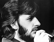 Beatles Photo Posters - Ringo Starr in 1972 Poster by Chris Walter