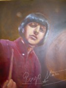 Ringo Starr Paintings - Ringo Starr by Leland Castro