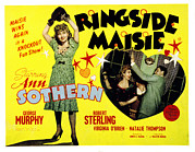 Boxing  Framed Prints - Ringside Maisie, Ann Sothern, George Framed Print by Everett