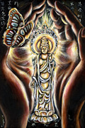 Buddhism Metal Prints - Rinne Metal Print by Hiroko Sakai