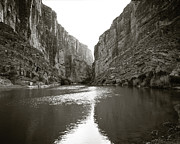 Grand River Framed Prints - Rio Grand River Southern Tip of Big Bend Framed Print by M K  Miller