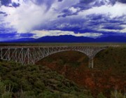 Rio Grande Framed Prints - Rio Grande Gorge Bridge Framed Print by Neil McCarver