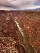 Rio Grande Gorge Print by Christine Hauber