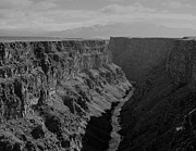 Taos Prints - Rio Grande Gorge Taos County NM Print by Troy Montemayor
