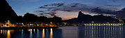 Postal Originals - Rio skyline from Urca by Carlos Alkmin