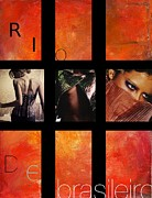 Vel Verrept Metal Prints - Rio-Vogue Series Metal Print by Vel Verrept