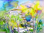 Rioja Painting Prints - Rioja Spain 04 Print by Miki De Goodaboom