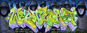 Graffiti Wall Art Framed Prints - RIP Rival Framed Print by Fraida Gutovich