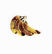 Overripe Framed Prints - Ripe Bananas Framed Print by Kevin Curtis