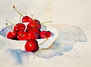 Linda Broome - Ripe Red Cherries