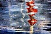 Richard Piper Metal Prints - Ripple  Metal Print by Richard Piper