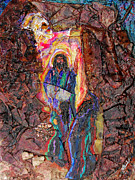 Resurrection Mixed Media Prints - Risen Print by GK Brock