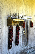 Ristra Digital Art - Ristras on the Wall by Steve Bailey