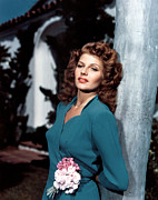 Hayworth Posters - Rita Hayworth, Ca 1940s Poster by Everett