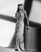 Evening Gown Photos - Rita Hayworth, Ca. Mid-1940s by Everett
