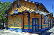 Soul Food Prints - Ritas Bar and Soul Food in Algiers LA Print by Kathleen K Parker