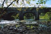 White Arched Bridge Prints - River Annalee, Ballyhaise, Co Cavan Print by The Irish Image Collection