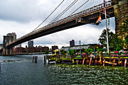 East River Prints - River Cafe Print by Randy Aveille
