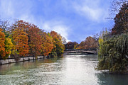 Munich Framed Prints - River Colors Framed Print by Anthony Citro