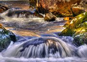 Natural River Posters - River Flows  Poster by Svetlana Sewell