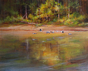 River Magic Print by Judy Maurer